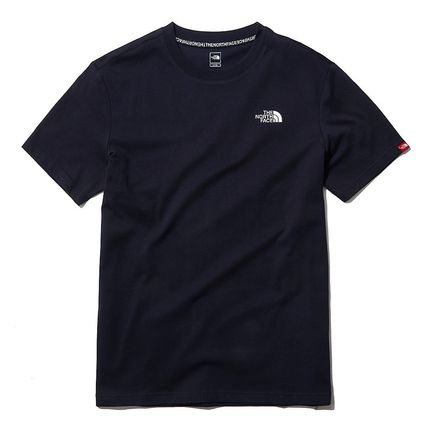 THE NORTH FACE More T-Shirts U-Neck Short Sleeves Logo T-Shirts 15