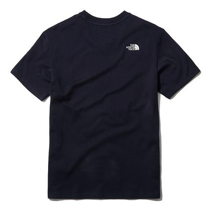 THE NORTH FACE More T-Shirts U-Neck Short Sleeves Logo T-Shirts 16
