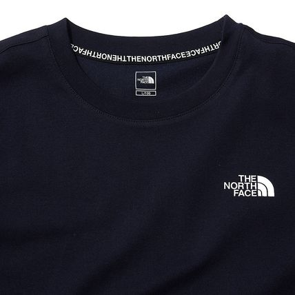 THE NORTH FACE More T-Shirts U-Neck Short Sleeves Logo T-Shirts 17