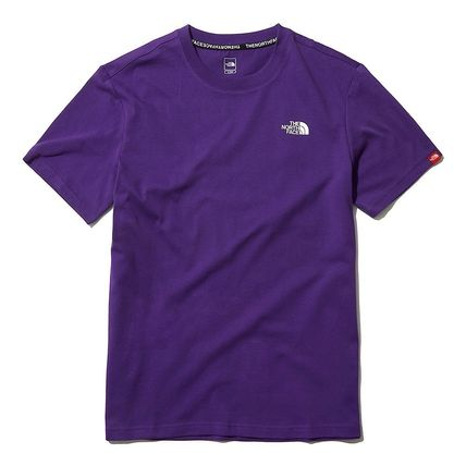 THE NORTH FACE More T-Shirts U-Neck Short Sleeves Logo T-Shirts 18
