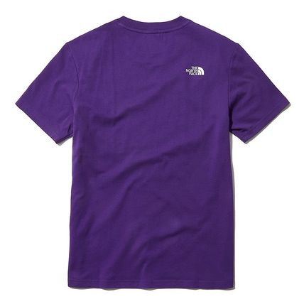 THE NORTH FACE More T-Shirts U-Neck Short Sleeves Logo T-Shirts 19