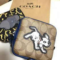 Coach Casual Style Unisex Blended Fabrics Collaboration 2WAY