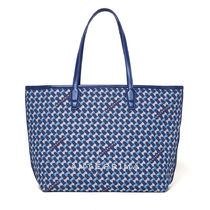 ANTEPRIMA Casual Style Canvas A4 Office Style Elegant Style Logo Totes