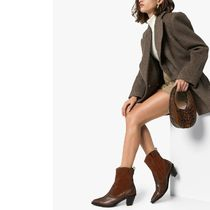 Reike Nen Leather Python Ankle & Booties Boots