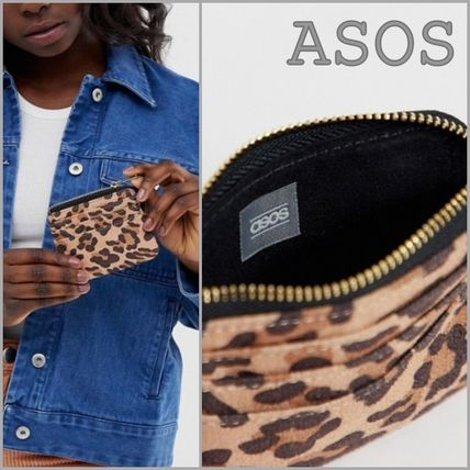 Leopard Patterns Long Wallet  Coin Cases