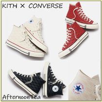 KITH NYC Collaboration Logo Sneakers