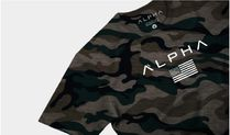Street Style Military Activewear Tops