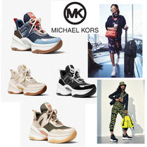 Michael Kors Platform Rubber Sole Casual Style Street Style