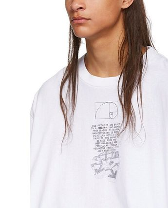 Off-White More T-Shirts Street Style Cotton Short Sleeves Oversized 5