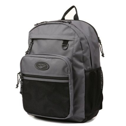 Unisex Plain Logo Backpacks
