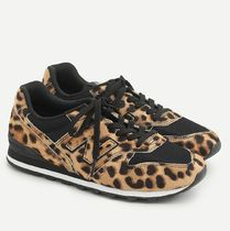 J Crew Leopard Patterns Casual Style Collaboration Low-Top Sneakers