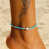 Star Casual Style Unisex Street Style Anklets