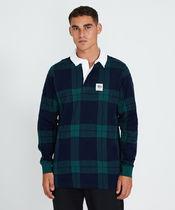 STUSSY Other Plaid Patterns Long Sleeves Cotton Polos Skater Style