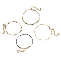 Casual Style Street Style Chain Anklets