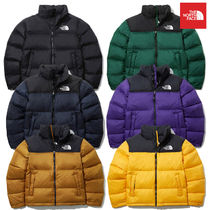 THE NORTH FACE Nuptse Short Unisex Street Style Down Jackets