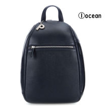 PICARD Casual Style Plain Leather Office Style Logo Backpacks