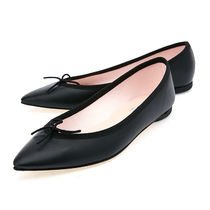 repetto Casual Style Studded Street Style Plain Leather