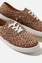 TYPO Leopard Patterns Casual Style Low-Top Sneakers