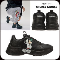 MLB Korea Casual Style Unisex Low-Top Sneakers