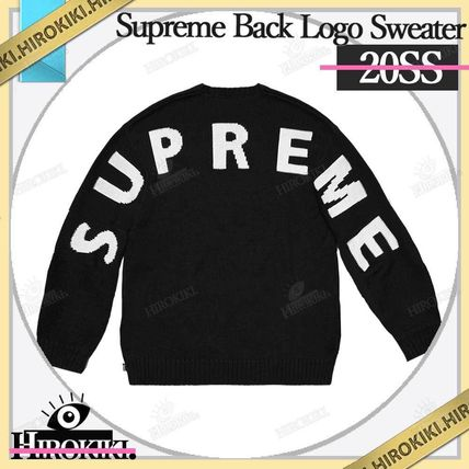 Supreme Sweaters Street Style Logo Sweaters 3