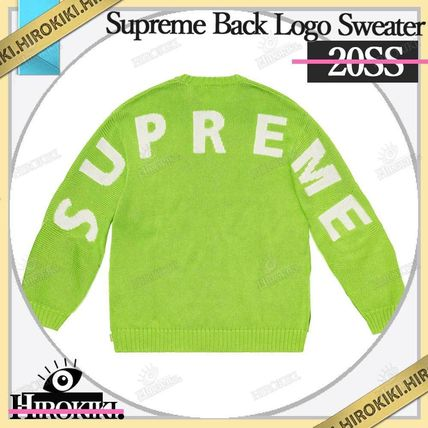 Supreme Sweaters Street Style Logo Sweaters 7