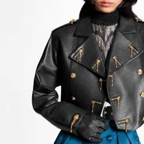 Louis Vuitton Embellished Leather Jacket