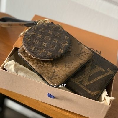 Louis Vuitton MONOGRAM Trio Pouch