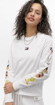 Tommy Hilfiger Crew Neck Street Style Collaboration Long Sleeves Plain
