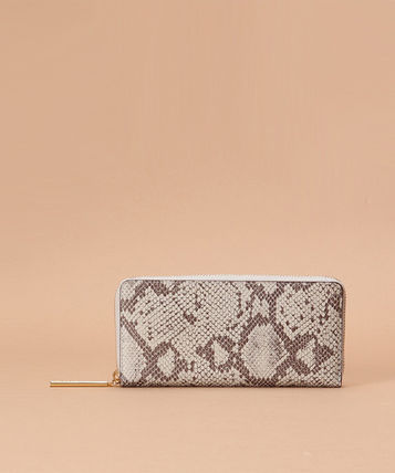 Leather Python Long Wallet  Long Wallets