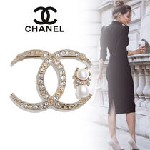 CHANEL Unisex Street Style Party Style Bridal Party Jewelry