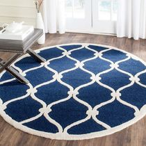 Round Geometric Patterns Carpets & Rugs