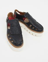 Grenson Round Toe Casual Style Leather Shoes