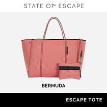 State of Escape Casual Style Unisex Street Style Satchels