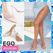 EGO Pin Heels Party Style Elegant Style Mules Heeled Sandals