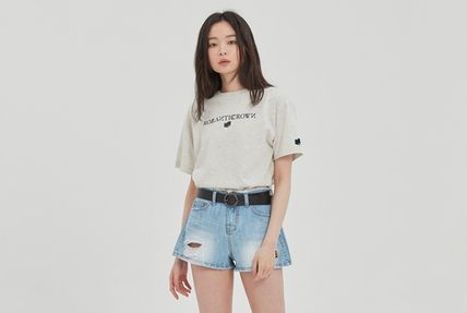 ROMANTIC CROWN More T-Shirts Pullovers Unisex Street Style U-Neck Cotton Short Sleeves 5