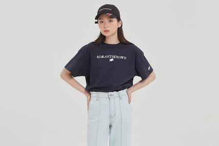ROMANTIC CROWN More T-Shirts Pullovers Unisex Street Style U-Neck Cotton Short Sleeves 15