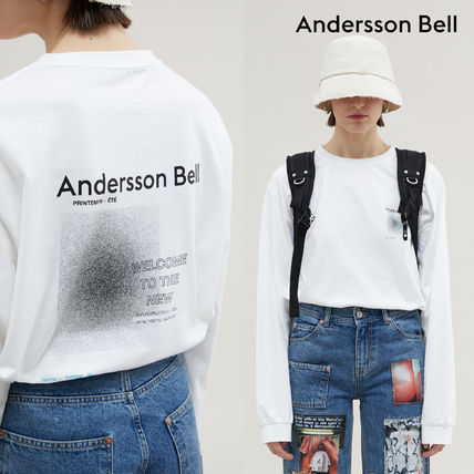 ANDERSSON BELL Long Sleeve Unisex Street Style Long Sleeves Cotton Long Sleeve T-shirt
