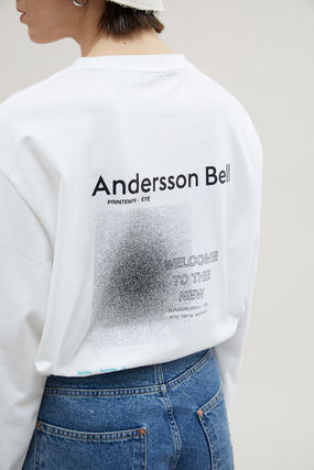 ANDERSSON BELL Long Sleeve Unisex Street Style Long Sleeves Cotton Long Sleeve T-shirt 8