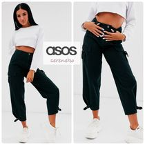 ASOS Casual Style Street Style Plain Military