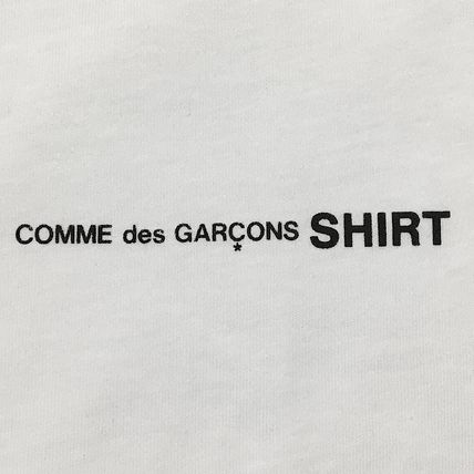 COMME des GARCONS Long Sleeve Crew Neck Cotton Short Sleeves Logo Designers 3