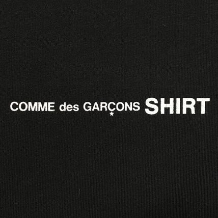 COMME des GARCONS Long Sleeve Crew Neck Cotton Short Sleeves Logo Designers 7