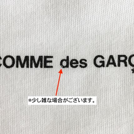 COMME des GARCONS Long Sleeve Crew Neck Cotton Short Sleeves Logo Designers 12