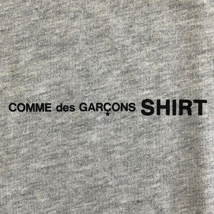 COMME des GARCONS Long Sleeve Crew Neck Cotton Short Sleeves Logo Designers 5