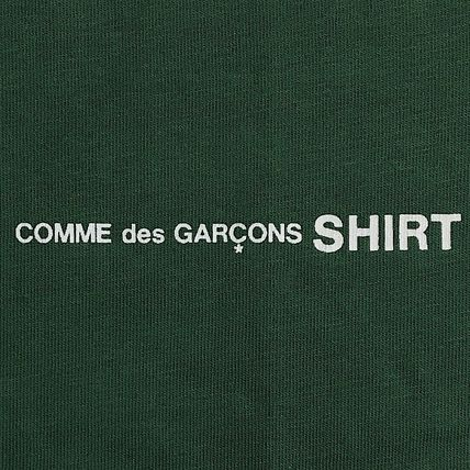 COMME des GARCONS Long Sleeve Crew Neck Cotton Short Sleeves Logo Designers 9