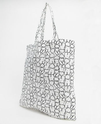 Casual Style Crystal Clear Bags Totes