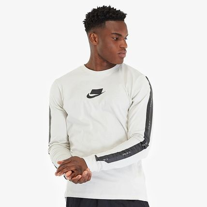 Nike Long Sleeve Crew Neck Street Style Long Sleeves Cotton 3