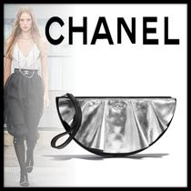 CHANEL Casual Style Lambskin Bag in Bag Plain Leather Party Style