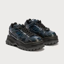 Eytys Rubber Sole Lace-up Casual Style Street Style Leather