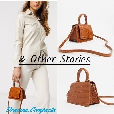 Casual Style Plain Leather Party Style Crossbody