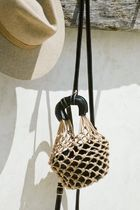 SABO SKIRT Straw Bags